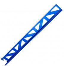 Profil pvc 2.50m 8mm bleu...