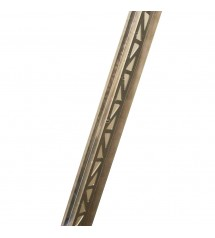 Zeraco plafonnier spot nickel mat x4 GU10 5W* Tananarive