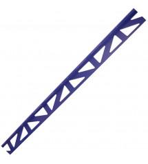 Profil pvc 2.50m 6mm bleu...