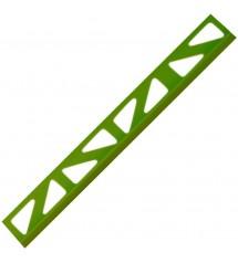 Profil pvc 2.50m 8mm vert vif