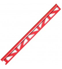 Profil pvc 2.50m 8mm rouge...