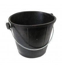 Seau de maçon noir 11Ld300m