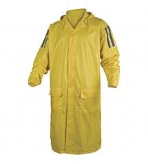 Manteau de pluie 400 jaune XXL