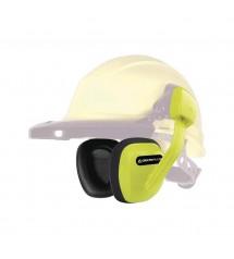 Protege oreilles jaune fluo suzuka2