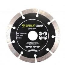 Disque diamant D115mm segmenté