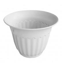 Pot de fleurs 4FA blanc