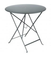 Table bistro pliante gris...