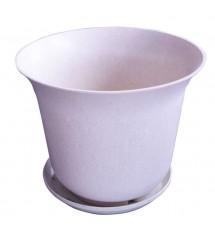Pot de fleurs 15D blanc