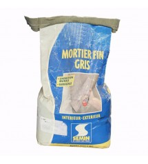 Mortier fin gris 5kg