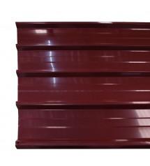 Tole prelaquée rouge basque 40/100 (1m utile)