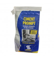 Ciment prompt sac 2.5 kg!