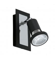 Sarria spot LED noir GU10 5W-
