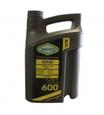 Huile 5W40 Synthèse YACCO 5...