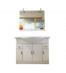 Meuble salle de bain Eco 105cm (3 élements)