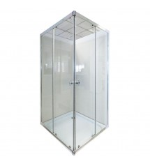 Cabine SLT-JF-100 100x100x192 porte frontale coulissante*