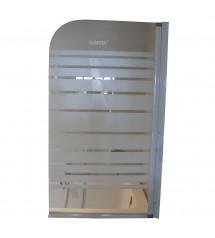 Paroi droite SLD-SC002 75x130 verre 4mm (1 elt)