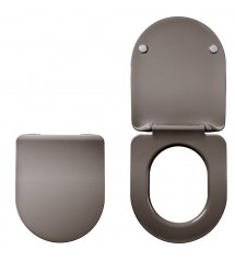 Abattant colors line amiral extra plat taupe