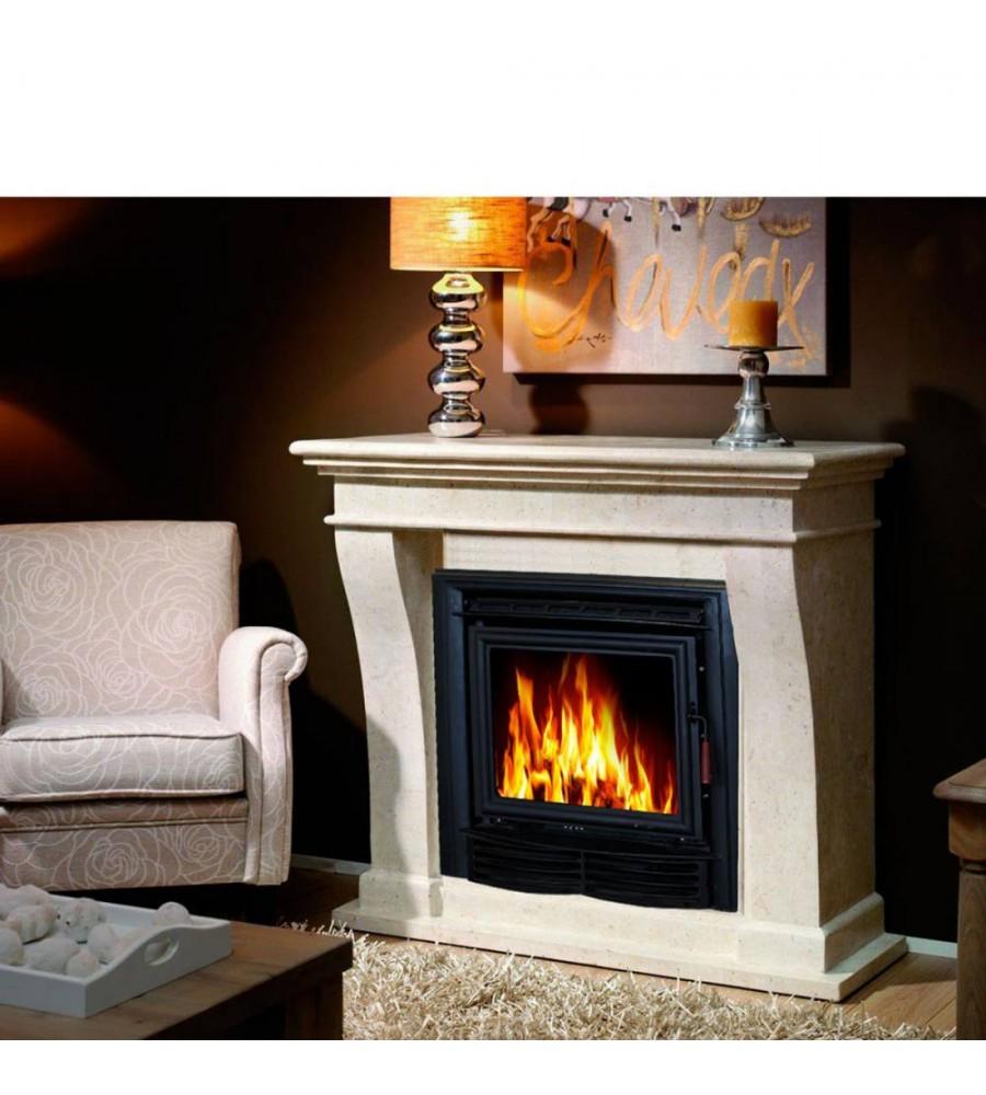 Carrelage Mural Pour Cheminée insert cheminée à bois zlr17*