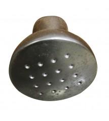 Bouton zinc chrome mat D33mm!