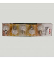Ampoule E27 3led blanc chaud