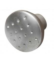 Bouton zinc chrome mat D28mm*