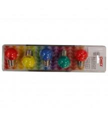 Ampoule E27 3led multicolores