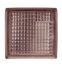 Brique de verre BV9 parallel pattern rose 190x190x80 (1c:6pces)*