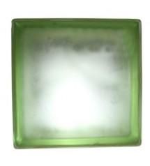 Brique de verre cloudy vert...