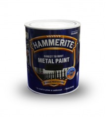 Hammerite smooth blanc 5L anticorosion