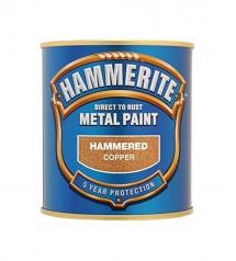 Hammerite hamered copper 1L fer anticorosion