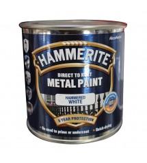 Hammerite hammered white 250ml fer anticorosion